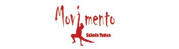 """Logo """"Szkoła Tańca Movimento"""""""