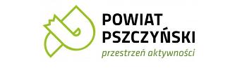 """Logo """"Powiat Pszczyński - przestrzeń aktywności"""""""